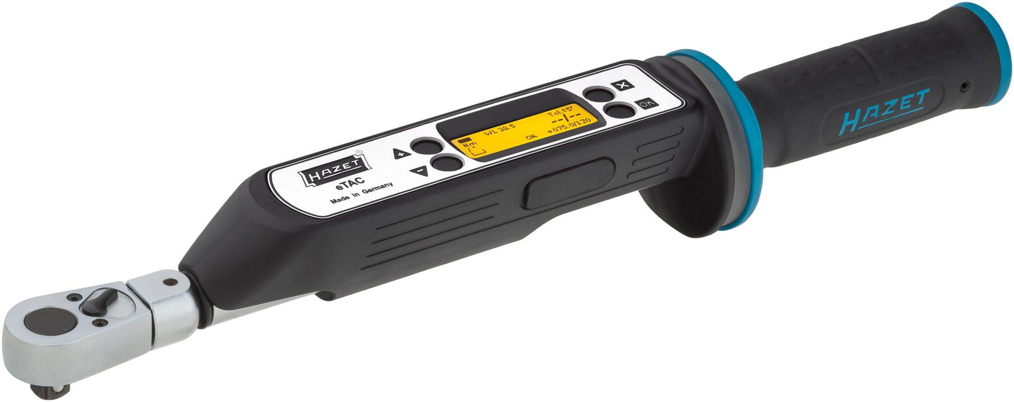 Elektronischer HAZET Drehmoment- und Drehwinkel-Schlüssel