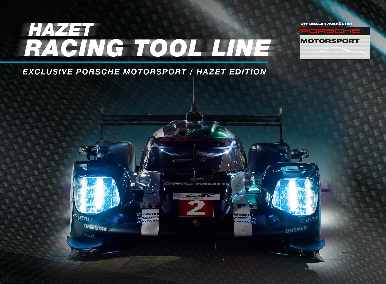 Neue HAZET Porsche Motorsport Werkzeuglinie