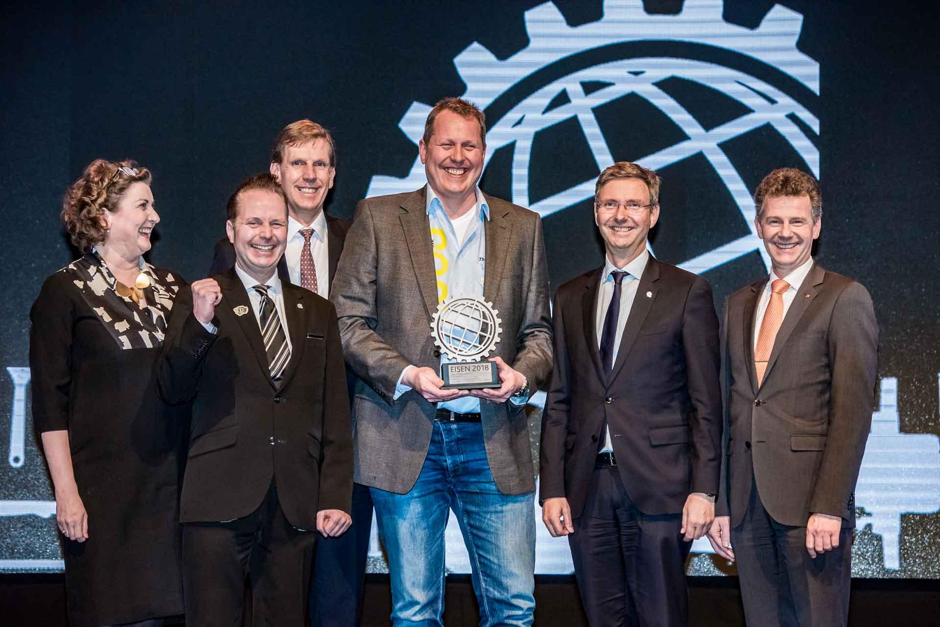 Eisen Award für Umschaltknarre 916HP