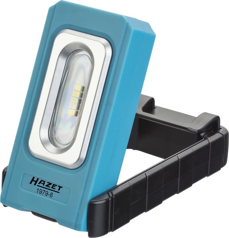 Neue LED-Klapp-Lampe von HAZET