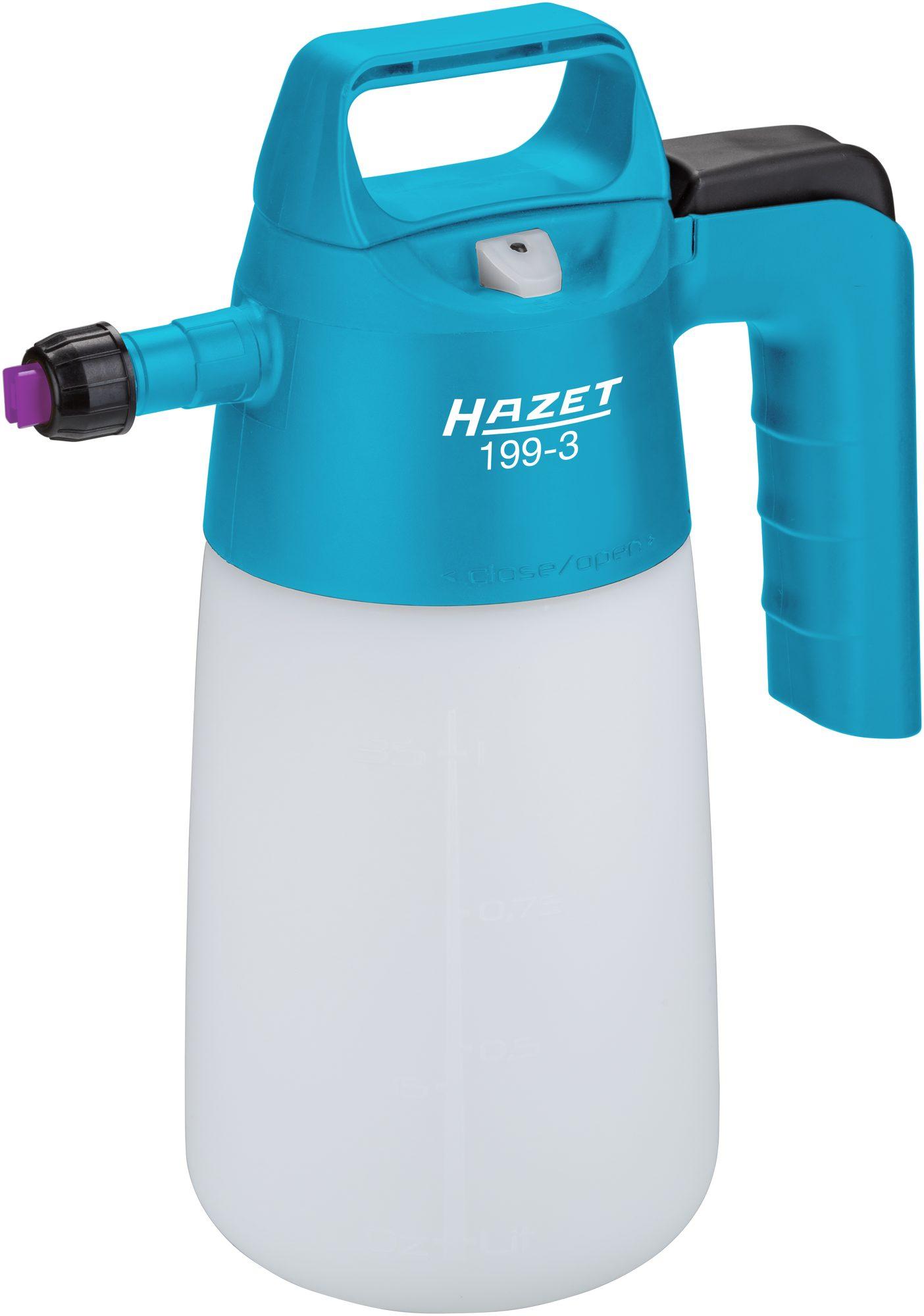 Neues HAZET Vordruck-Spritzgerät, Schaum