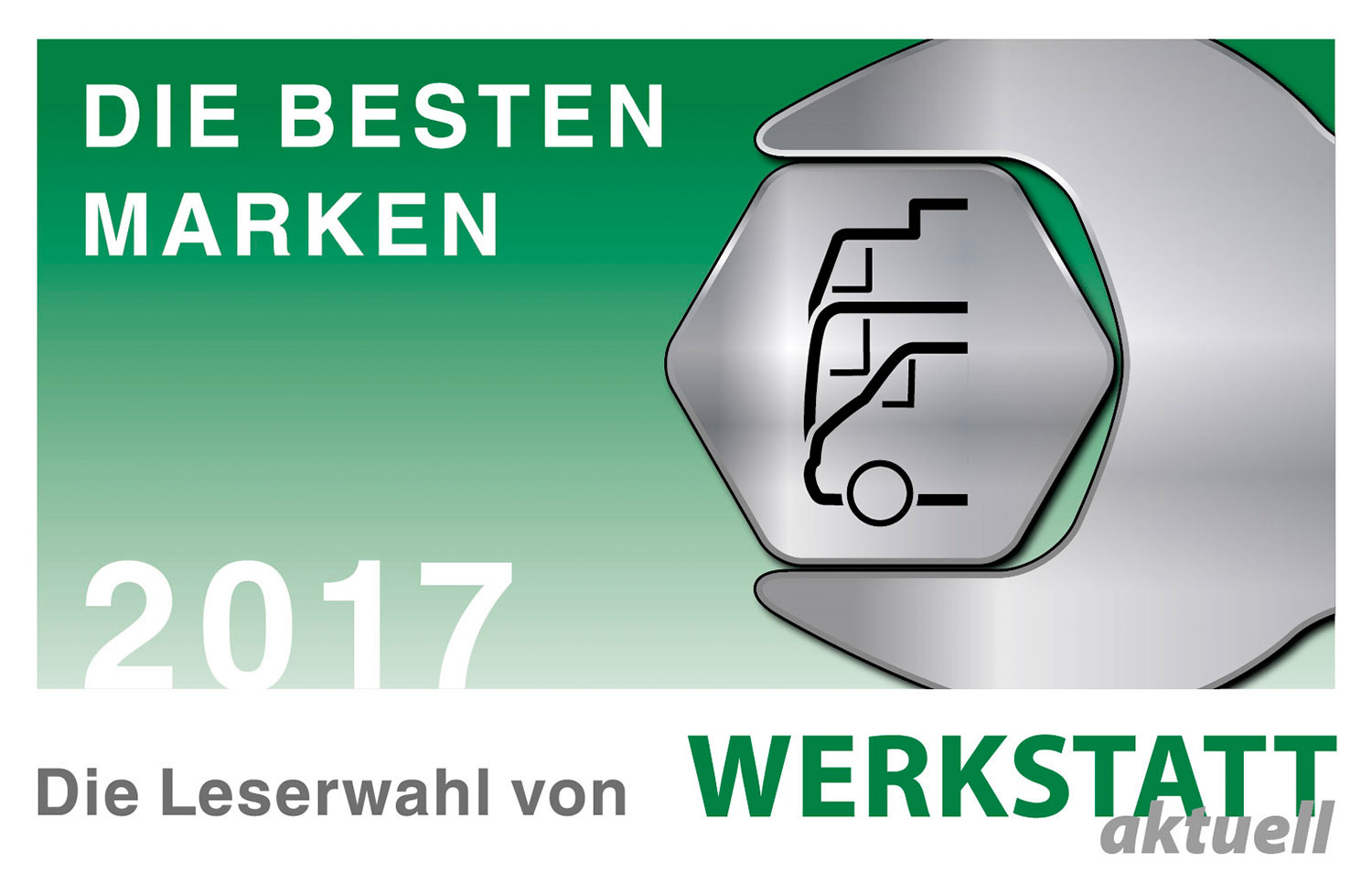 "4 in a row! – HAZET wins the award from WERKSTATT aktuell magazine as best brand in the ""Tool"" and ""Pneumatic Screwdrivers"" categories for the fourth time in a row!"