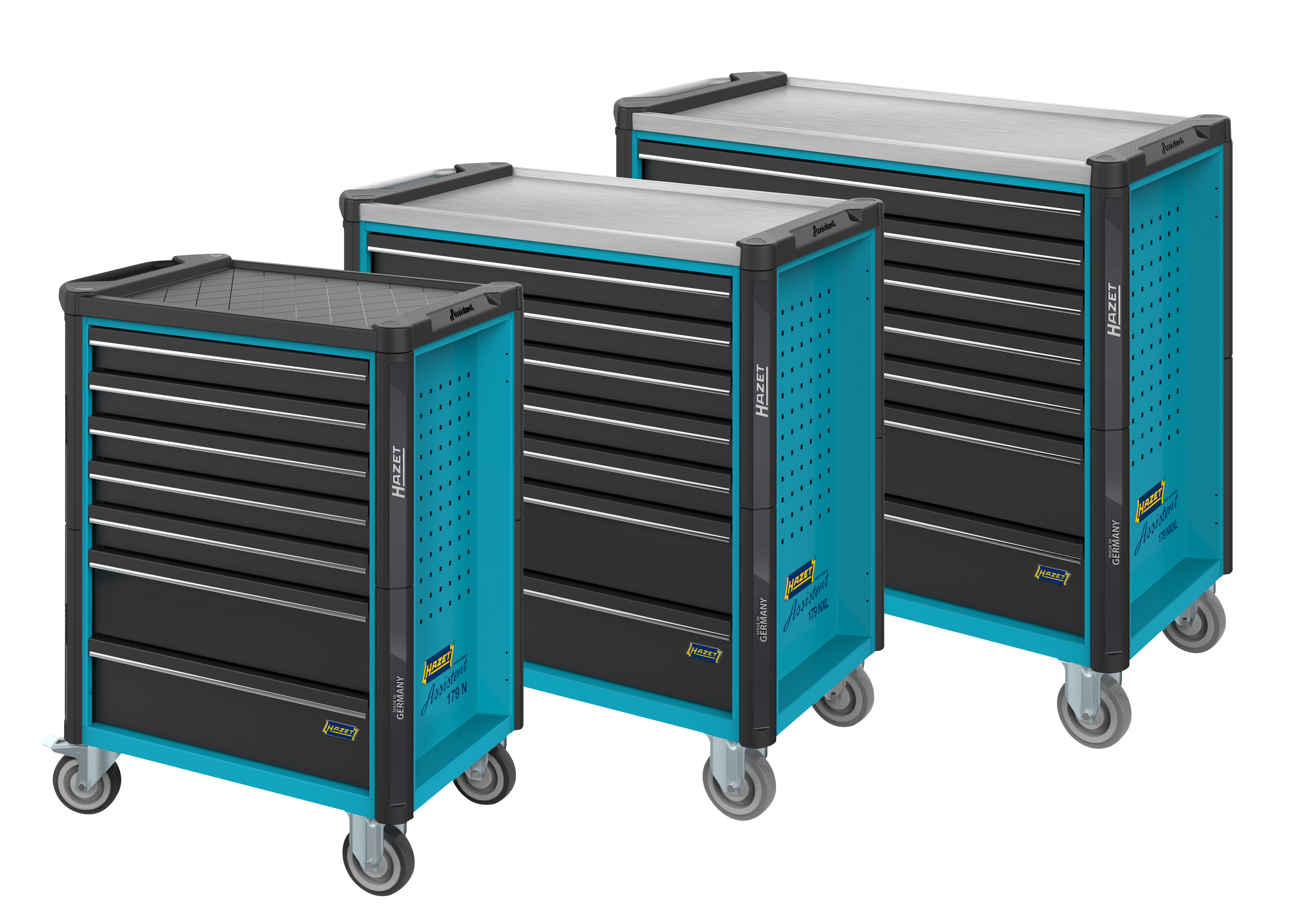 New generation of tool trolleys, Assistent 179 N