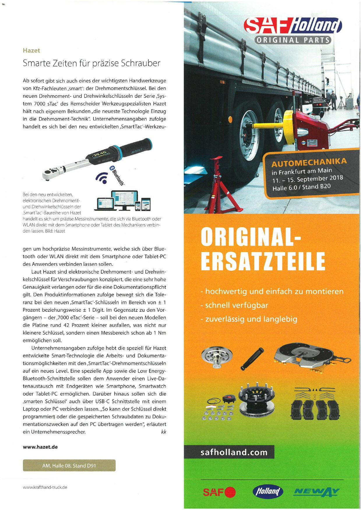 Krafthand Truck