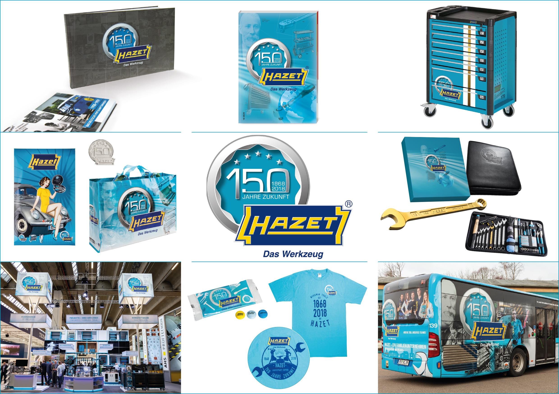 HAZET remporte le German Brand Award pour son design de communication à l'occasion de son 150e anniversaire !