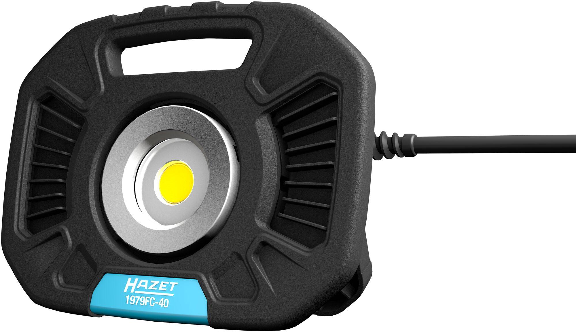Neue LED Arbeitsstrahler und Zubehör von HAZET