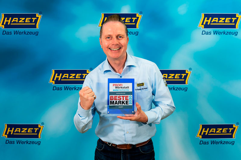 HAZET retourne chercher la victoire en tant que «Meilleure marque» auprès des pros de véhicules utilitaires