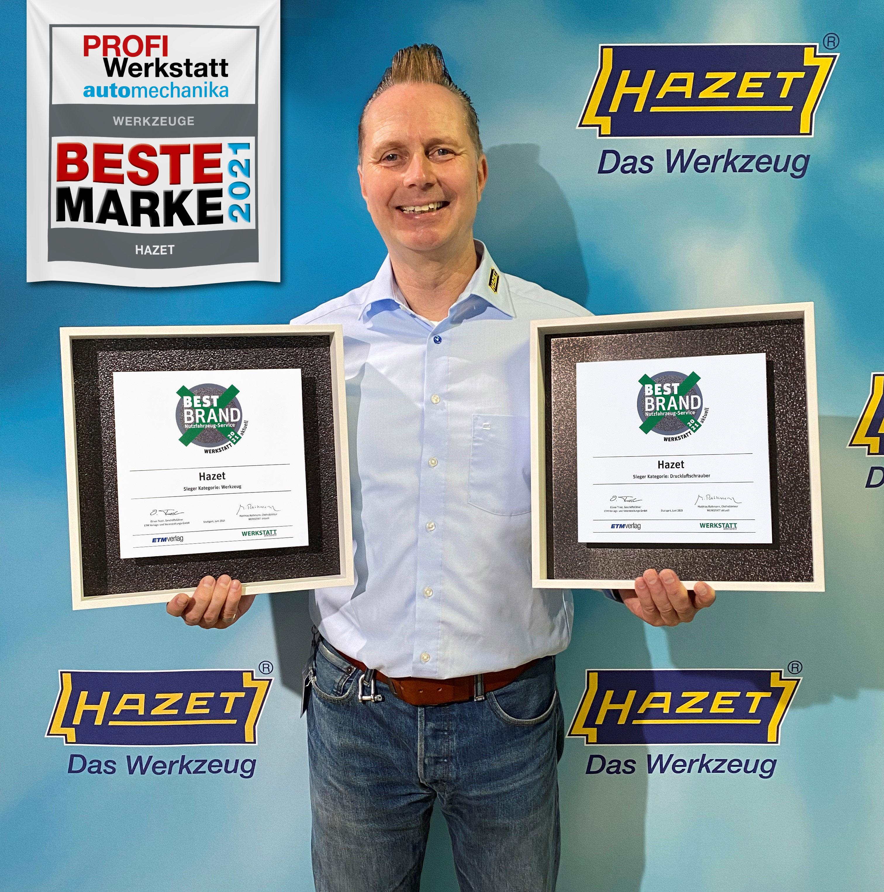 "HAZET holt sich erneut das ""Double"" bei den Nfz-Profis"