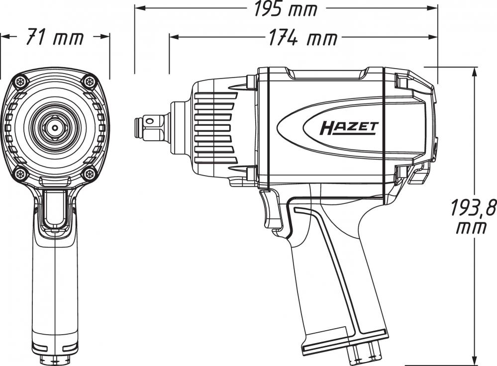 Zwei neue Schlagschrauber von HAZET