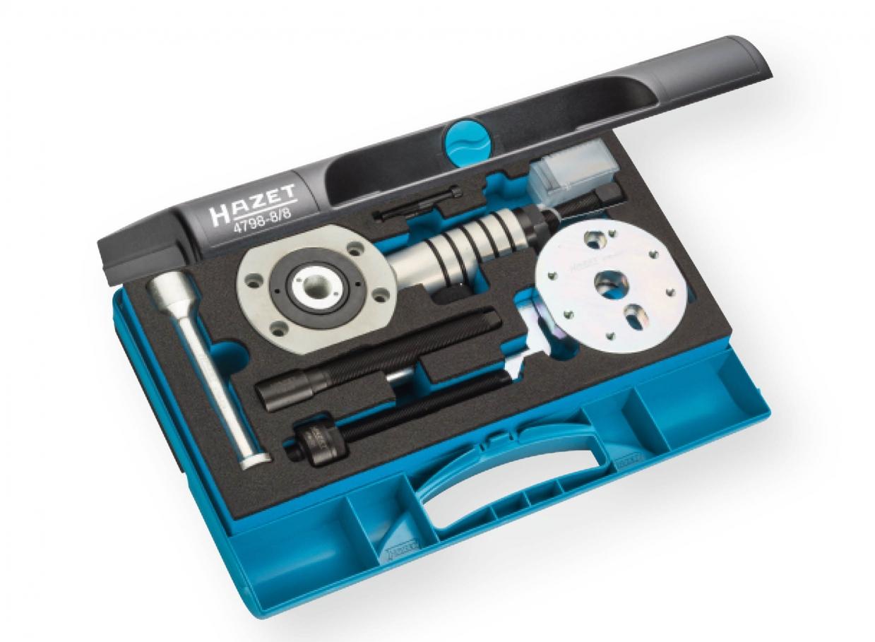 HAZET Universal Injektor Ausziehwerkzeug-Satz 4798-6//8