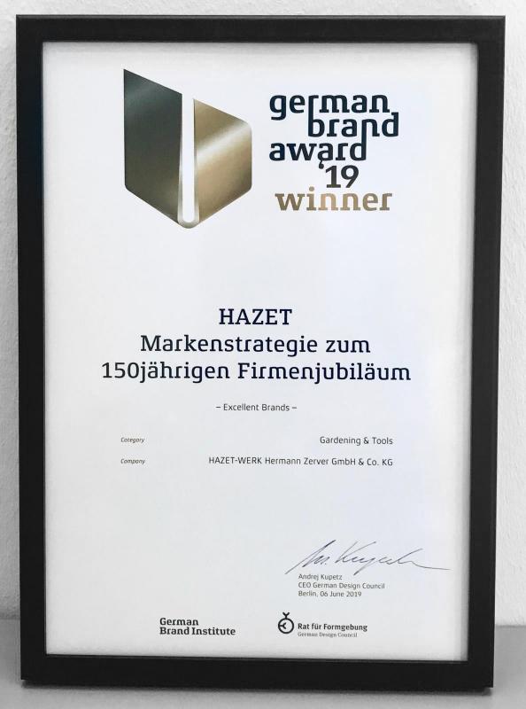 HAZET gewinnt German Brand Award für sein Kommunikationsdesign zum 150-jährigen Jubiläum!